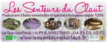 Producteurs d'huiles essentielles BIO et hydrolats BIO de plantes aromatiques et medicinales de montagne, macerations solaires, cosmetiques et savons, miel. Mentions Nature et Progres et SIMPLES